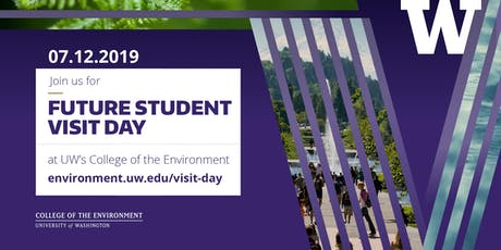 UW College of the Environment: Future Student Visit Day 2019 tickets