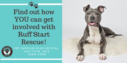 Crystal Pet Supply Plus Volunteer Recruitment Event-July 27th