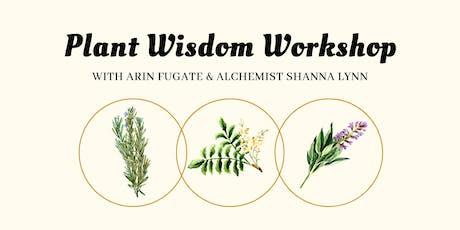 Plant Wisdom Workshop tickets