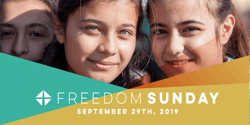 Freedom Sunday 2019