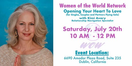Women of the World Network: Opening Your Heart To Love tickets