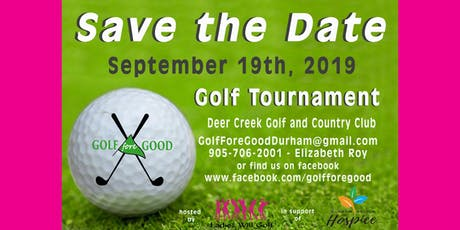 Golf Fore Good in support of Durham Region Hospice tickets
