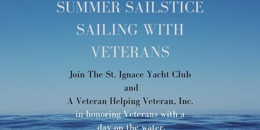 Summer Sailstice: Sailing with Veterans