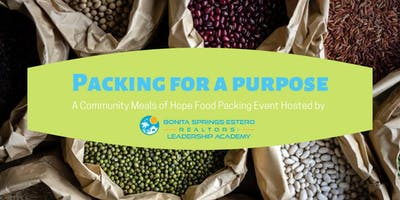 Packing For a Purpose- Meals of Hope