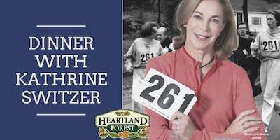 Dinner with Kathrine Switzer / Fundraiser for Heartland Forest 2019