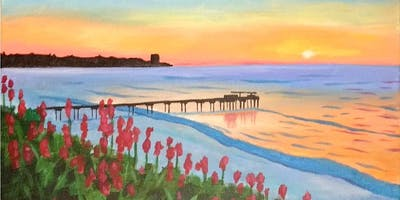 """La Jolla Sunset"" Painting Class at Ballast Point Miramar"