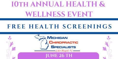 10th Annual Health & Wellness Event