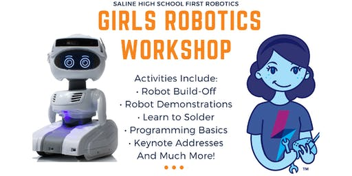 Saline Girls Robotics Workshop