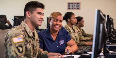 USO Pathfinder Transitioning Military and Spouse Career Fair