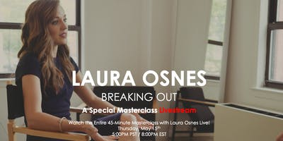 Broadway Masters with Laura Osnes Livestream