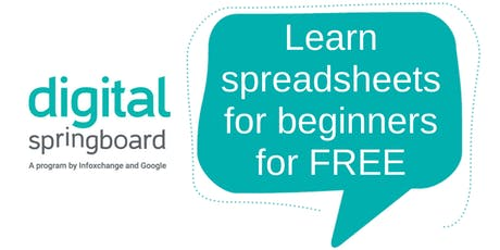 Learn spreadsheets for beginners with Walkerville Library tickets