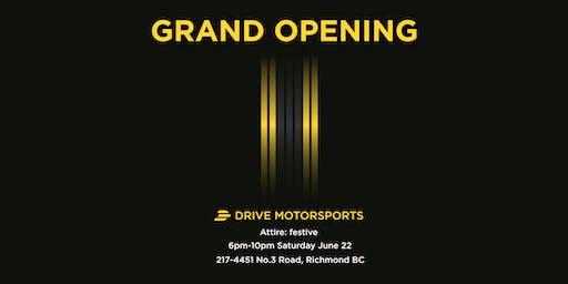Drive Motorsports Grand Opening