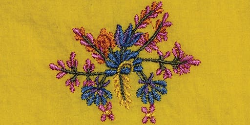Home Sewn: Makers of Melton: Flower Embroidery