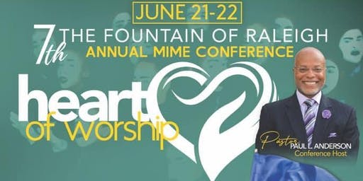 Fountain of Raleigh Annual Mime Conference Heart o