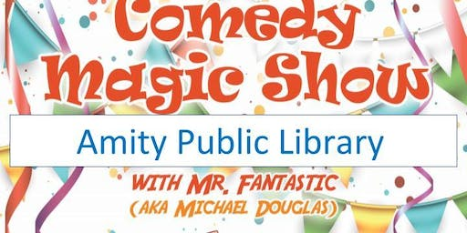 Amity Public Library Magic Show