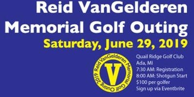 The 11th Annual Reid VanGelderen Memorial Golf Outing