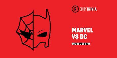 Big Trivia | Marvel vs DC tickets