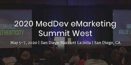 2020 MedDev eMarketing Summit West tickets
