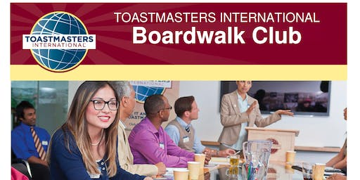 Boardwalk Toastmasters -Join Now!