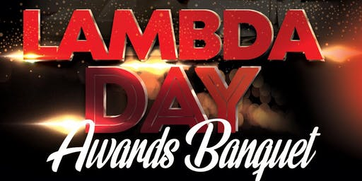 Lambda Day Awards Banquet 2019