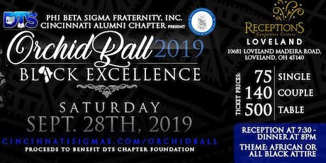 Cincy Orchid Ball 2019 - Black Excellence tickets