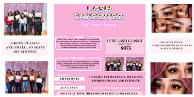 LASH EXTENSION TRAINING - HANDS ON - DETAILED