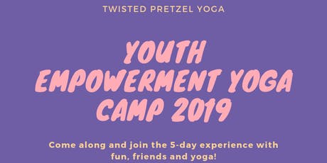 Youth Empowerment Yoga Camp tickets
