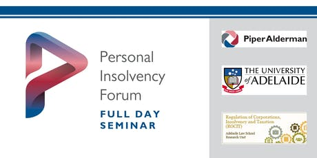 Personal Insolvency Forum 2019 tickets