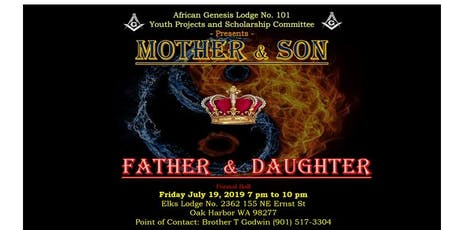 Mother and Son -  Father and Daughter Ball tickets