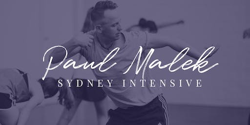 Paul Malek Interstate Workshop (Sydney)
