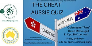 TRIVIA NIGHT - The Great Aussie Quiz
