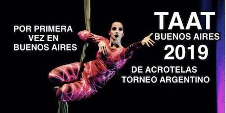 TAAT BUENOS AIRES TORNEO ARGENTINO DE ACROTELAS entradas