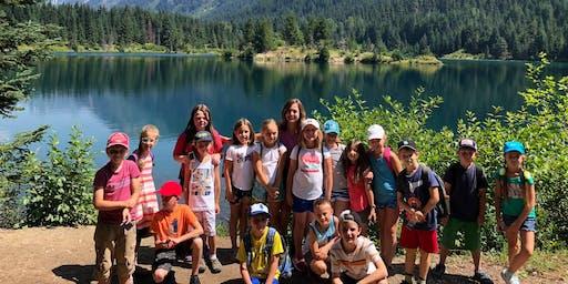 """Летний дневной лагерь """"Походы на природу"""" (8-10 лет)"""