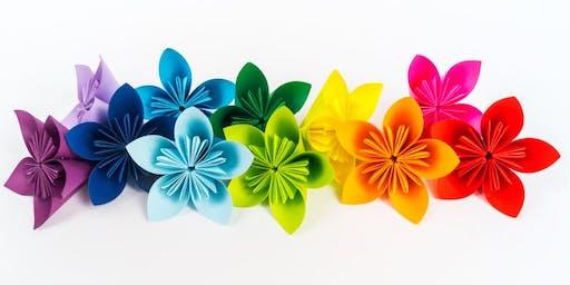 Kusudama: Origami Flower folding