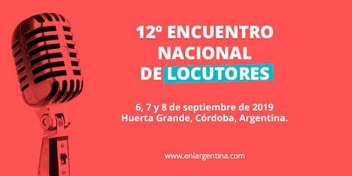 12º EDICIÓN ENCUENTRO NACIONAL DE LOCUTORES