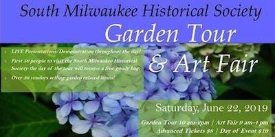 South Milwaukee Garden Tour & Art Fair - Art-N-Soul Class & Demos