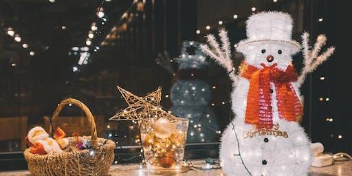 Build Your Own Snowman Snow Globe - Nar Nar Goon
