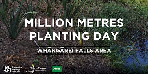 Million Metres Planting Day – Whangārei Falls