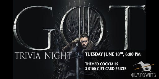 Game of Thrones Trivia 3.1