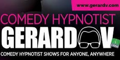 Comedy Hypnotist Gerard V  tickets