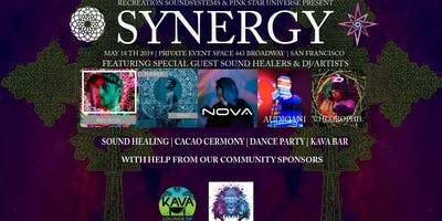5/18 Synergy - Cacao Ceremony - Sound Healing - Dance Party - Kava Bar