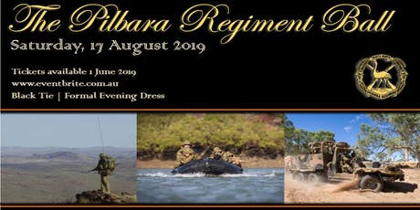 The Pilbara Regiment Ball 2019 tickets
