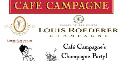 Café Campagne's Champagne Party!