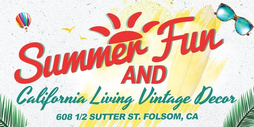 Summer Fun! & California Living Vintage Decor
