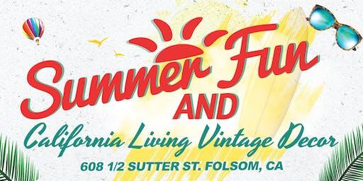Summer Fun! & California Living Vintage Decor