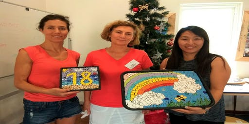 New! Mosaic class for Beginners at Vic Park Centre for the Art
