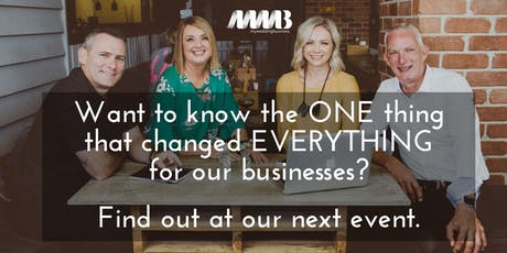 MWB BNE Event - The ONE Thing That Changed Everything tickets
