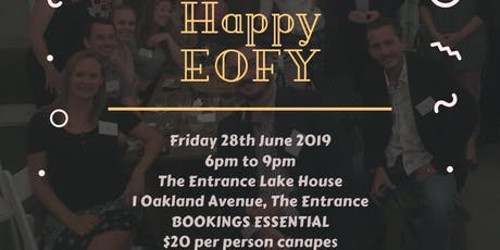 June 2019 END OF FINANCIAL YEAR PARTY & Networking Small Business Event  tickets