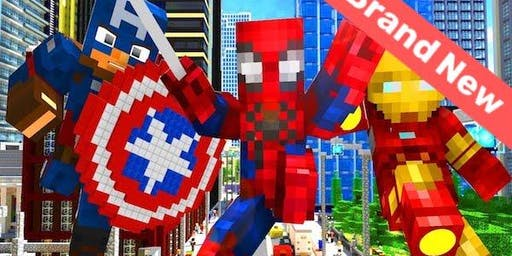 Minecraft Modding: Superheroes - Holiday Coding Camp for Kids