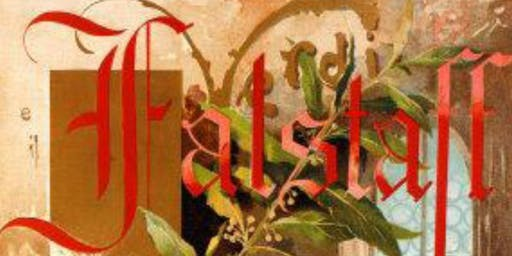 "Guiseppi Verdi's ""Falstaff"" Under the Redwoods!!!"